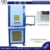 Продажи на заводе 3W УФ лазерная маркировка машины для пластмасс