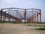 Edificio estructural ligero del Godown de la construcción del marco de acero