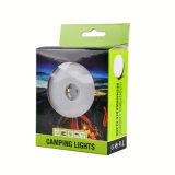 Bewegliche nachladbare LED-kampierende Laterne-Taschenlampen-Nachtlicht USB-Energien-Bank