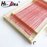 ODM oem Customize Knitting Toy Wooden Weaving Loom, Kids Children baby Wooden Weaving Loom Toy