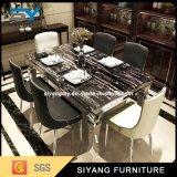 ホテルの家具のためのベストセラーのステンレス鋼のダイニングテーブル