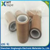 Cinta adhesiva de la resistencia del aislante de la fibra de vidrio da alta temperatura del Teflon