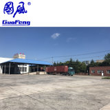 A nova produção WPC Baixa Manutenção China Co-Extrusion WPC Deck promocionais