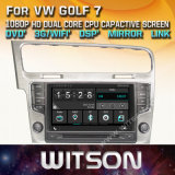 Witson Windows Radio Stereo reproductor de DVD para VW Golf 7