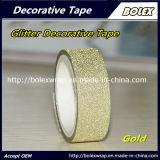 Multifunción DIY Glitter Glitter cintas decorativas de colores cinta adhesiva 1,5cm*3m/rollo
