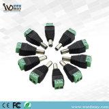 Garantie de WDM tout le genre de connecteur de C.C de connecteur du connecteur BNC de télévision en circuit fermé
