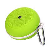 Mini haut-parleur imperméable à l'eau des haut-parleurs 2017 portatifs pendants extérieurs circulaires de Bluetooth