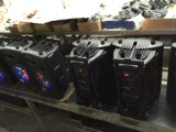 Altoparlante portatile di forte potere con la vendita calda Mic di karaoke senza fili di Bluetooth 8 pollici