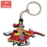Neue Entwurfs-Förderung kundenspezifischer weicher Belüftung-Auto Keychain Ring Belüftung-Keychain Plastik-