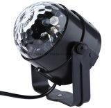 Mulitiは音によって作動するLEDの段階の照明効果のディスコの球ライトを着色する