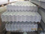 Плита толя стеклоткани FRP Corrugated, плитка толя стеклоткани
