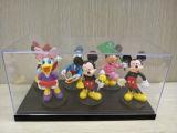 Caja de presentación de acrílico transparente de múltiples capas para el juguete, modelo, animación
