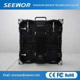 SMD2121 Peso P3.91mm Indoor LED de alquiler de vallas publicitarias