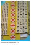 인쇄된 자동 접착 레이블 스티커의 제조자 다양성 장