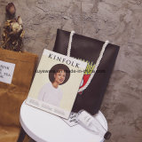 연약한 PU 쇼핑 백 바느질 여자 끈달린 가방 (TTE-012)