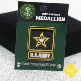 Custom/Qualidade/Venda/Metal/Pino/de estanho/polícia/Nome/Militar/esmalte/Badge
