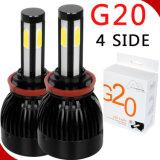 96W高い発電100%防水H4 Hi/LoのビームHb2 9003球根LEDの置換車のヘッドライト