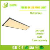 Großhandels-SMD2835 eingehangene Dimmable LED Oberflächeninstrumententafel-Leuchte 40W 300*1200 100lm/W mit Cer, TUV, SAA