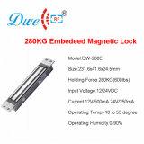 280kg Embedeed bloqueio magnético para porta de vidro um graminho Monte Fechadura Eletromagnética de porta única