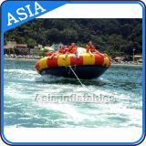 Barca gonfiabile del disco delle 8 sedi per i giochi dell'acqua