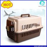 A gaiola portátil do portador do animal de estimação do vôo da gaiola do cão com linha aérea do portador do animal de estimação aprovou