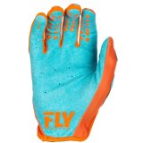 Fly Racing Lite водорода Mx грязь на велосипеде перчатки оранжевого цвета