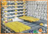 Resistente para trabajo pesado 1650mm Amarillo Relecitive bloques de aparcamiento de goma