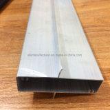 Het vierkante, Ronde, Verschillende Profiel van de Uitdrijving van de Legering van het Aluminium voor Deur en Buis 206 van het Venster