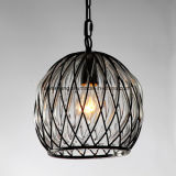 Preço barato para a lâmpada interna do pendente do candelabro com vidro