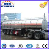3 Wellen-Benzin-Dieseltanker-LKW-halb Kraftstofftank-Schlussteil