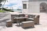 Garden Patio Rattan & Wicker Outdoor Furniture Loungest Sofa (J546-POL)