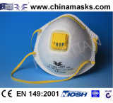 Nichtgewebte Ffp1 Atemschutzmasken mit Atem-Ventil