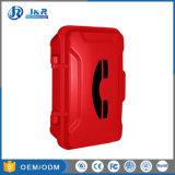 IP67 VoIP/SIP Tunnel-Telefon, industrielles wetterfestes Telefon für Gleise