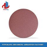 el certificado de pulido de la BV de 150 del milímetro que enarenaba discos del Velcro aprobó (VD1206)