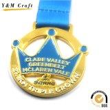 صنع وفقا لطلب الزّبون معدن نوع ذهب طلية رياضة مكافأة سب وسام ([م009])