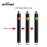 Ocitytimes 제조 전자 담배 Cbd Vape 펜 380mAh 강선전도 건전지 (S19)