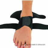 Funda de soporte ajustable del tobillo del diseño del contorno con las correas entrecruzadas