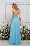 Einfach schöner Blick A - Zeile Bridesmade Kleid mit dem Mit Rüschen besetzen des Mieders