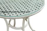 Patio extérieur / jardin //& en rotin Table aluminium HS6210DT-2