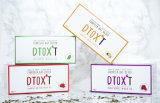 Customized Brand Dtox' T 14 Day Weight Loss Detox Tea Series with Assorted Flaovrs