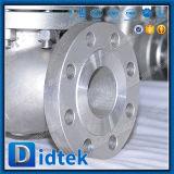 La hausse de la tige Didtek molette CF8M Soupape de Globe