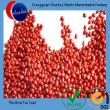 Masterbatch rojo HDPE/LDPE granula Masterbatch fosforescente plástico