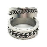 Alto anello della catena dell'uomo di barretta dei monili dell'acciaio inossidabile di quantità
