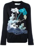 Sweatershirt stampato elegante del Ladie su ordinazione
