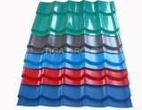 펠트 PPGL 물결 모양 루핑을%s 가진 색깔에 의하여 입히는 직류 전기를 통한 지붕 장