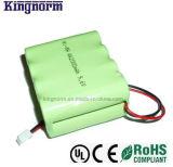 Pacchetto basso della batteria di idruro di metallo di nichel di Auto-Dischage AA2000 9.6V