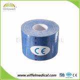 El 95% de algodón + 5% Spandex Oferta Mejor Proveedor de China Deportes rígida cinta Kinesiología