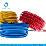 450/750 V trenzó el alambre aislado PVC de cobre Thw del conductor
