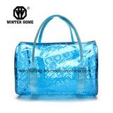 方法多彩な透過PVC手装飾的な袋浜袋