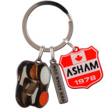 Heiß-Verkauf des kundenspezifischen eindeutigen Entwurfs-Metalldruckens Keychain
